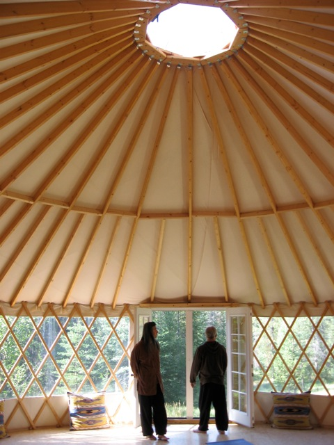 Cross River Yurt